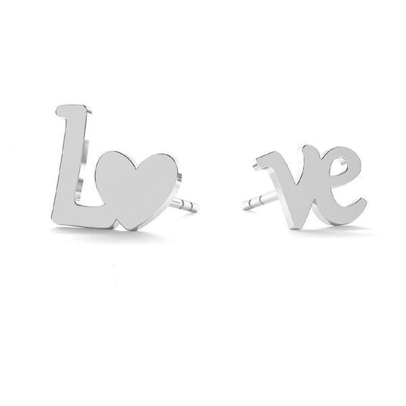800x800 earrings love silver