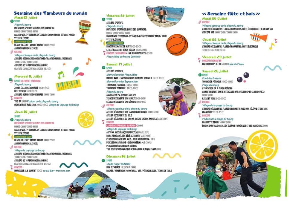Activites sportives et culturelles le marin 1007 au 80821 3
