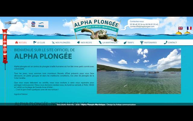 Alpha Plongée – Anses d'Arlet – Martinique