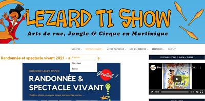 Association Lézard Ti Show Martinique