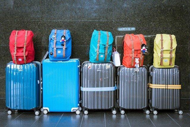 Avant voyage valise