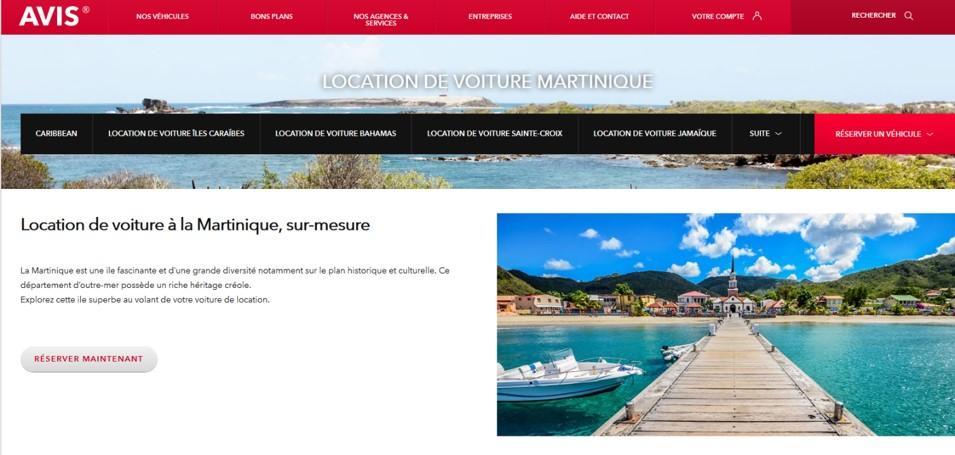 Avis Martinique