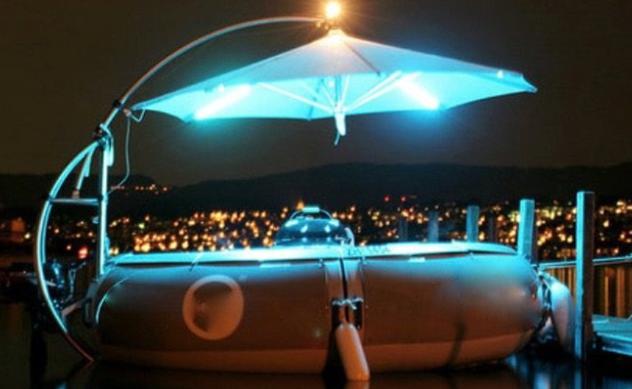 Balade bateau romantique