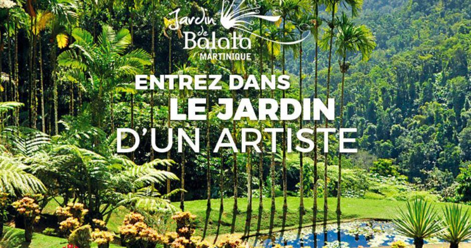 Balata Jardin botanique Fort-de-France Martinique