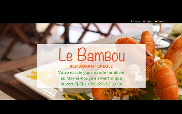 Restaurant Le Bambou - Morne-rouge - Martinique