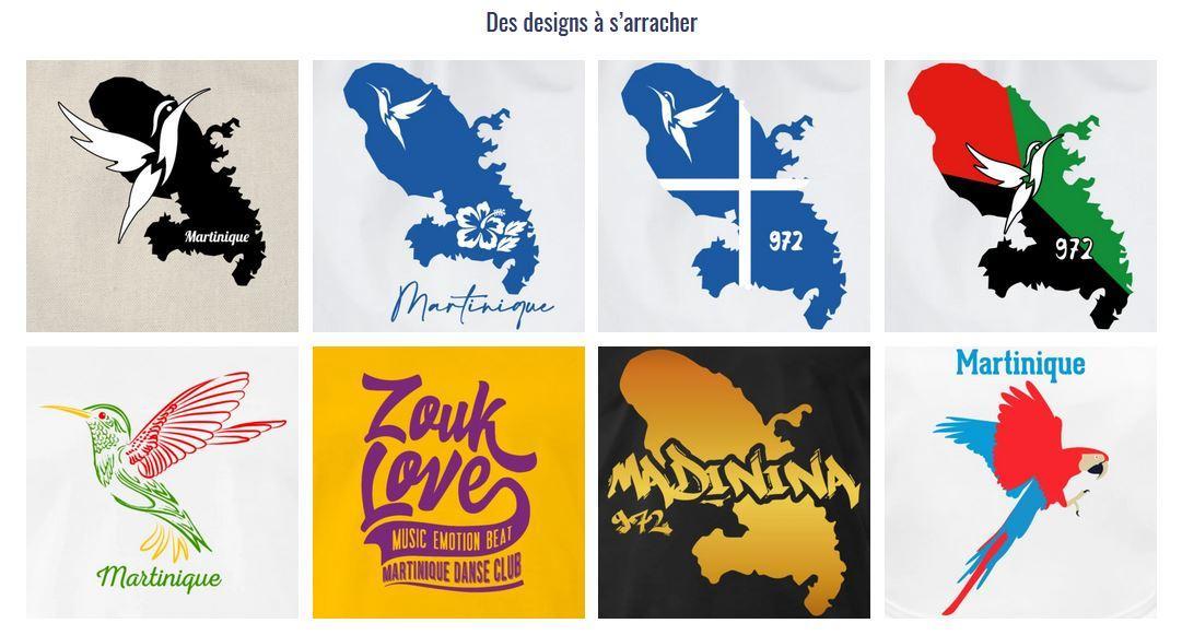 Boutique 972 souvenirs martinique Tshirt