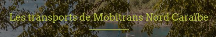 Mobitrans Nord Caraibe Taxi Martinique