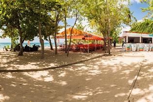 Caribbean food beach sainte luce