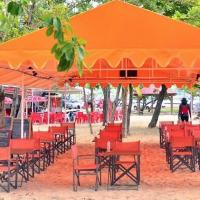 Caribbean food beach