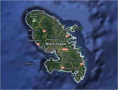 Carte de martinique compressed