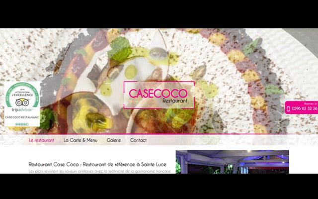 Case Coco, Sainte-Luce, restaurant Martinique