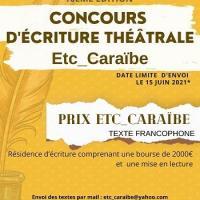Concours d ecriture theatrale limite 15 juin 2021