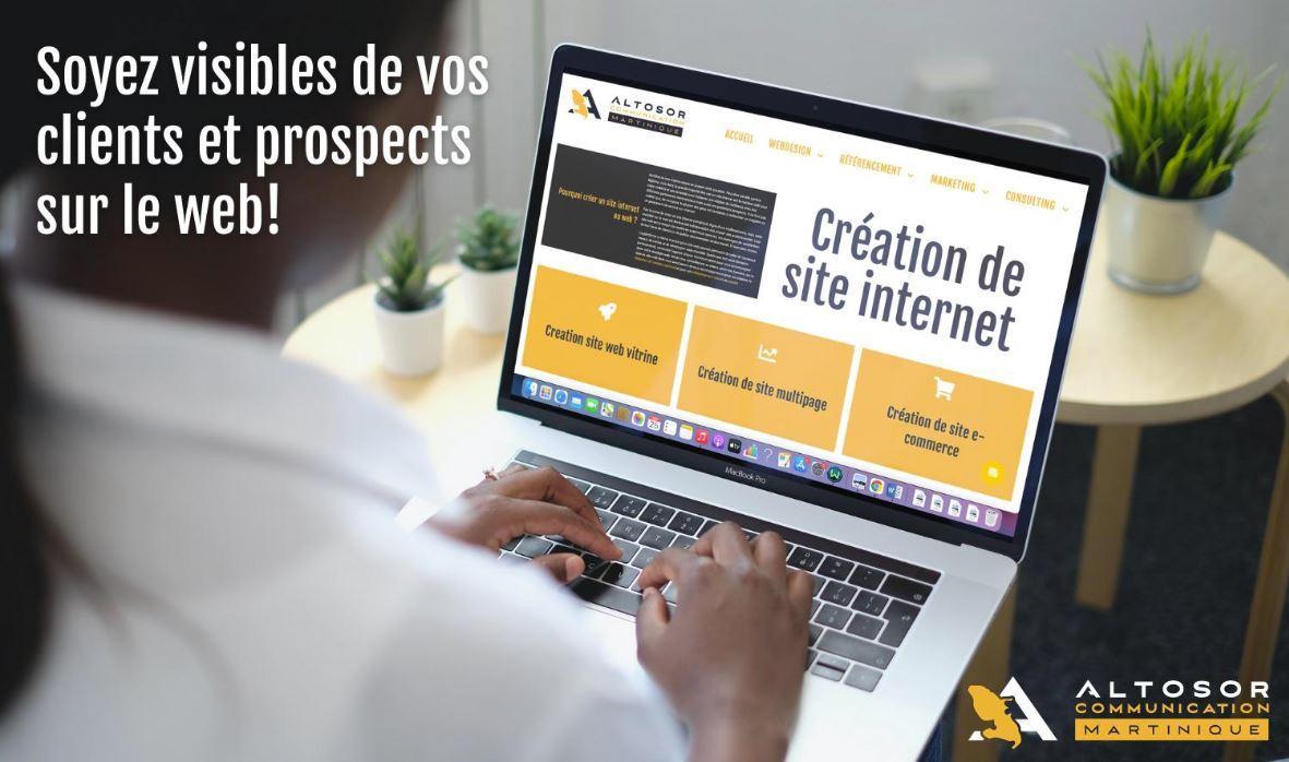 Creation site internet altosor publicite