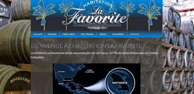 Habitation La Favorite Distillerie Fort-de-France Martinique