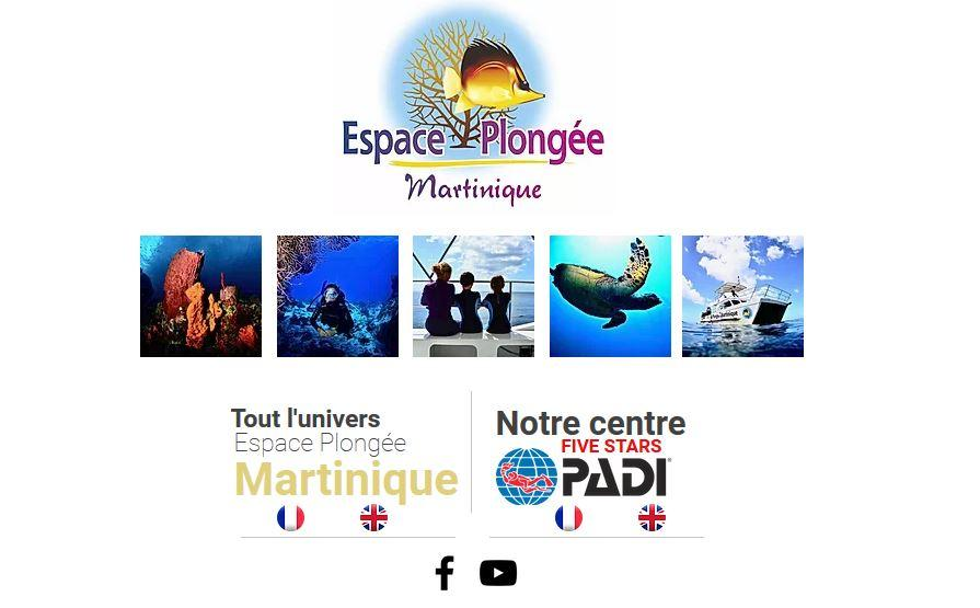 Espace Plongée Martinique -  Les Trois-Îlets – Martinique