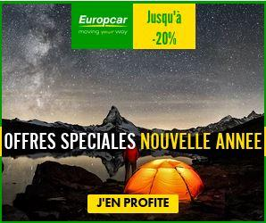 Europcar location offre janvier 2021