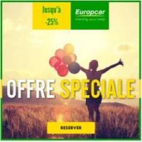 Europcar location offre septembre 2020