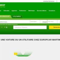 Europcar reservation martiniqu