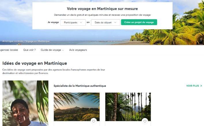 Evaneos, l'agence de vos voyages sur-mesure en Martinique