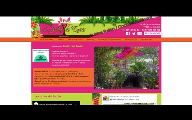 Restaurant le Jardin des Envies Trois îlets Martinique
