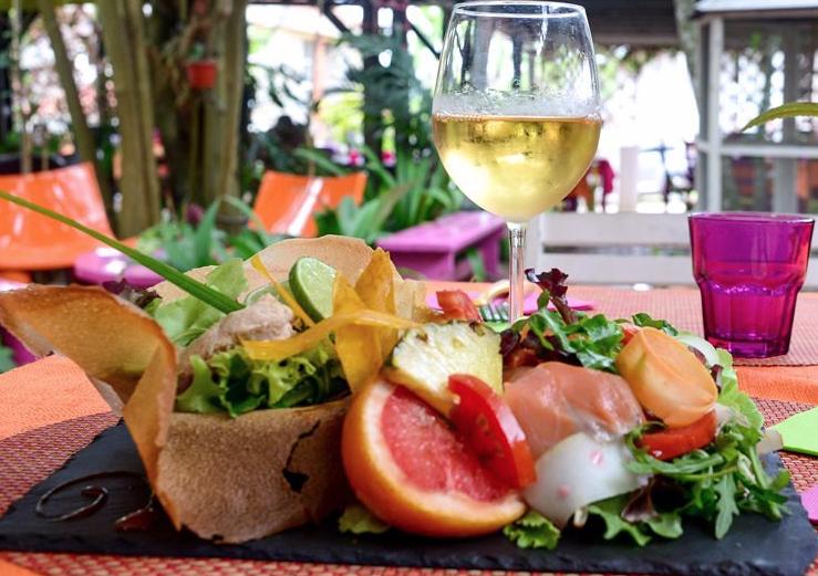 Restaurant le Jardin des Envies aux Trois-Îlets Martinique