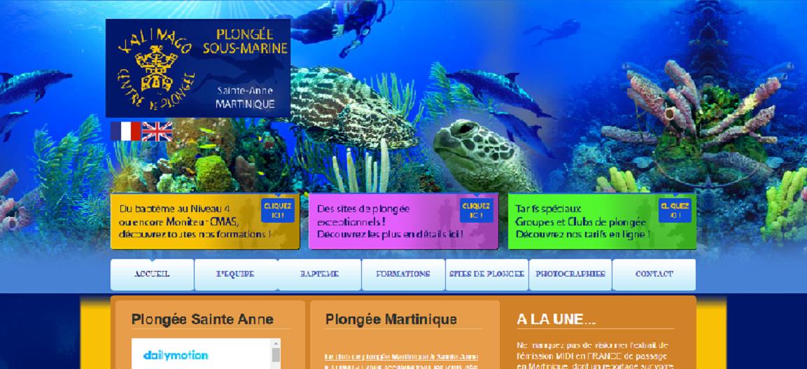 Centre de plongée Kalinago à Saint-Anne en Martinique