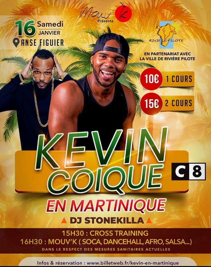 Kevin coique martinique