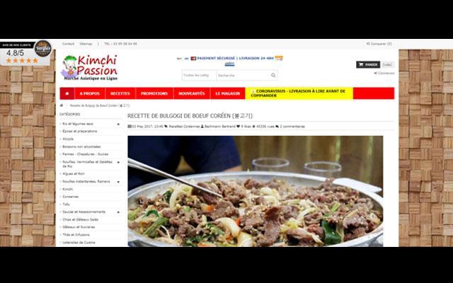 Kimchi Passion - Marché antillais en ligne