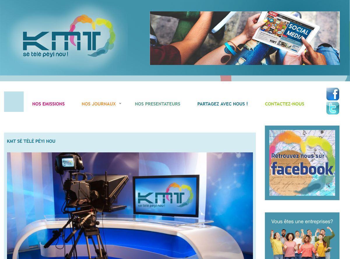 KMT, la télévision authentiquement Martiniquaise