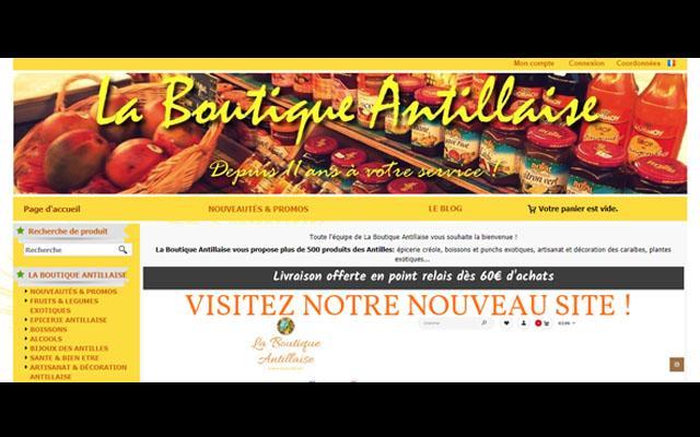 La Boutique Antillaise Martinique supermarché antillais en ligne