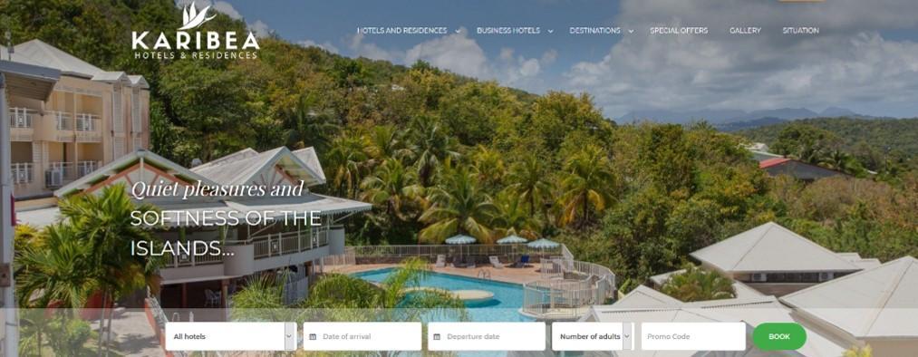 Hotel Karibea La Goélette Détente à Tartane en Martinique