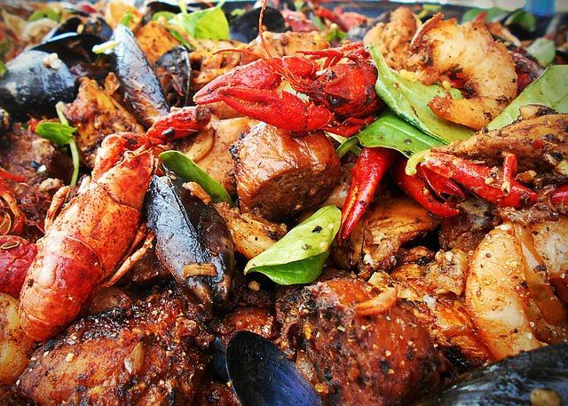 Restaurant le Sextant au Marin, Martinique
