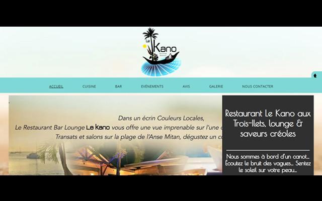 Le Kano restaurant Trois-Îlets en Martinique