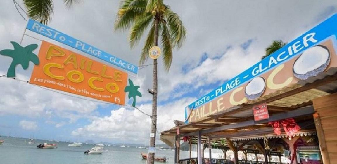 Restaurant Paille Coco à Saint-Anne en Martinique
