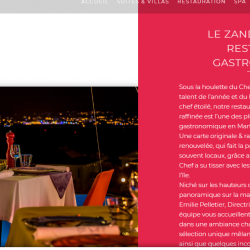 Le restaurant le Zandoli aux Trois-Îlets