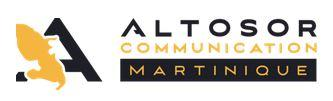 Logo altosor communication martinique