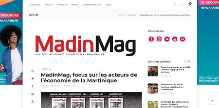 Madin'mag - Magazine actualité positive Martinique