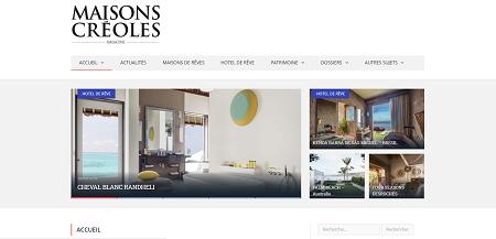 Maisons Créoles - Magazine décoration Martinique
