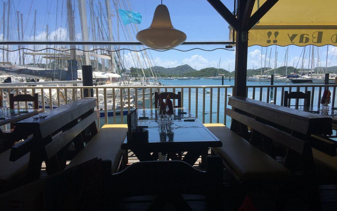 Le Mango Bay, restaurant au Marin, Martinique