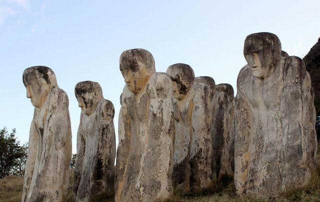 Martinique memorial anse canete sculpture