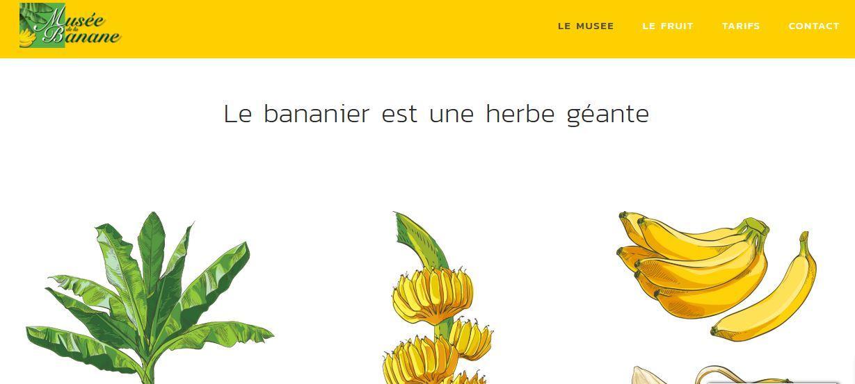 Le Musée de la banane à Sainte-Marie en Martinique