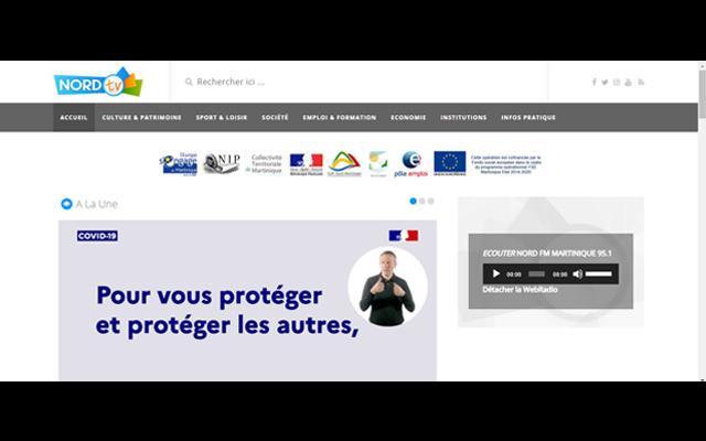 Martinique Nord TV et FM la voix de la Martinique Nord