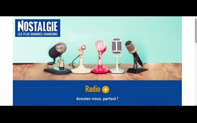 Radio Nostalgie Martinique - les Chansons de vos Légendes !