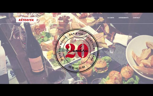 Numéro 20 restaurant Le Marin en Martinique