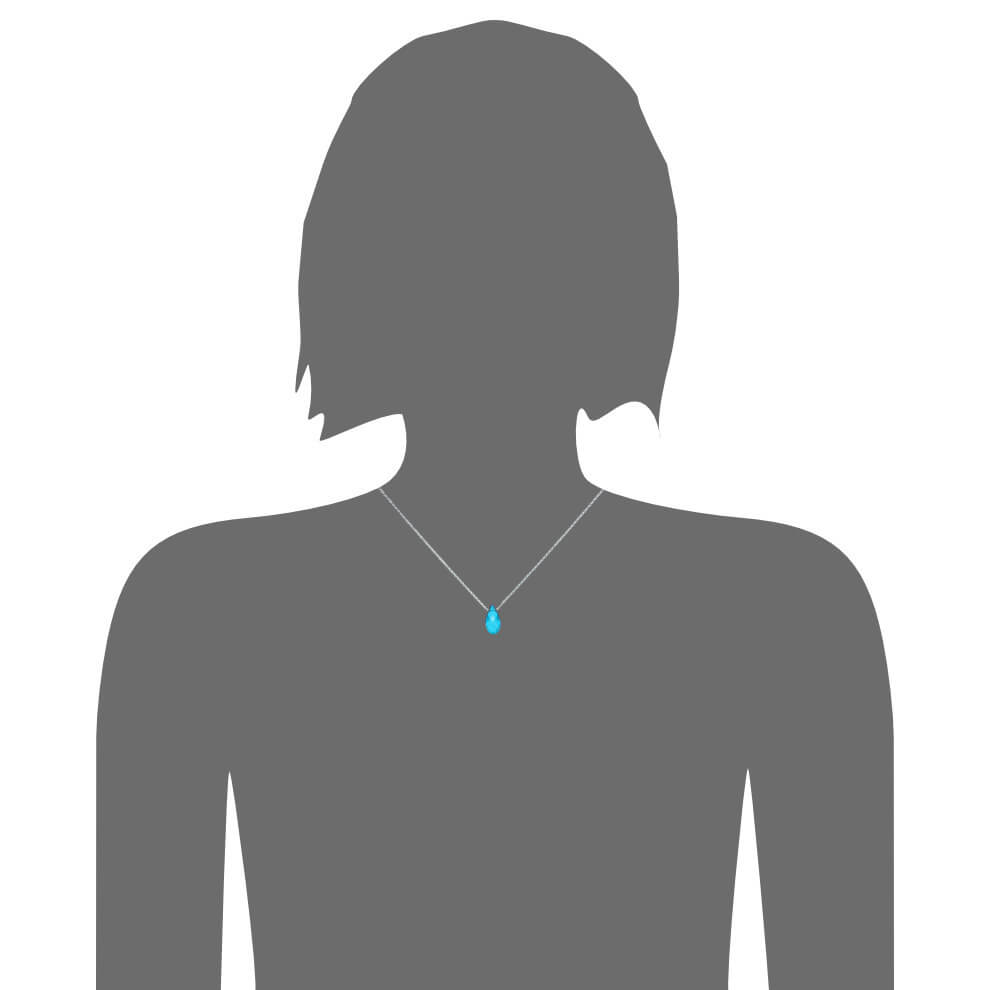 Pine aquamarin nude model pendentif juliapilot