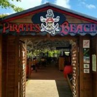 Pirates beach restaurant sainte anne martinique