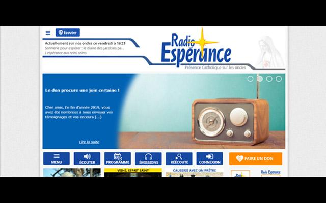 Radio Espérance, la radio catholique