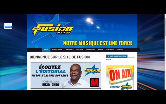 RADIO FUSION - 1ERE RADIO SUR LA MUSIQUE ANTILLAISE