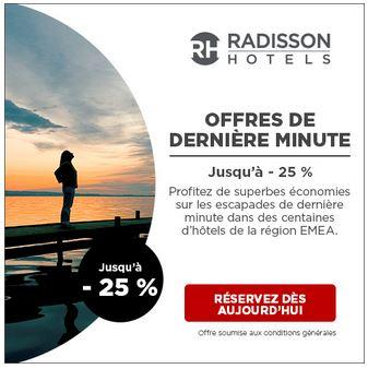 Radisson hotels 300x250 last minute deal
