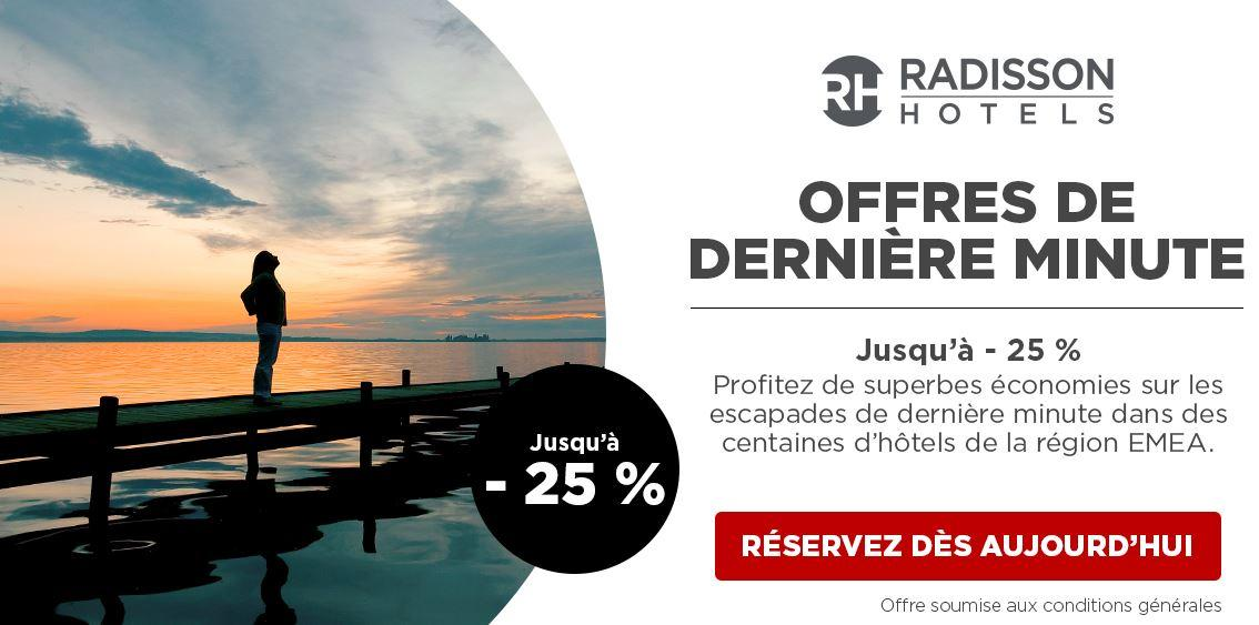Reserver hotel radisson promo dream deal